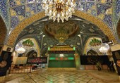 مراسم عزاداری شهادت حضرت رقیه(س) در حرم آن حضرت + تصاویر