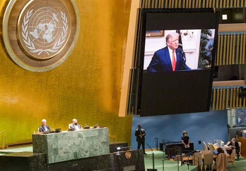 رادیو بینالمللی چین: ترامپ کمپین انتخاباتی خود را به مجمع عمومی سازمان ملل کشاند