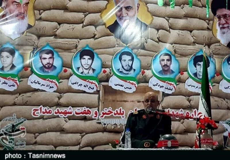 ملت ایران در 8 سال دفاع مقدس از استقلال، آزادی و تمامیت ارضی دفاع کردند