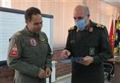دیدار فرمانده دانشگاه هوایی ارتش با سردار غلامی