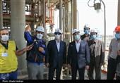 بازدید سرمایهگذاران و معاون وزیر نفت از شرکت پژوهش و فناوری به روایت تصویر