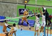 لیگ برتر والیبال| برتری سایپا در دربی تهران و شکست هراز آمل