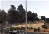 آخرین جزییات از آتش سوزی یک واحد بزرگ صنعتی در اشتهارد