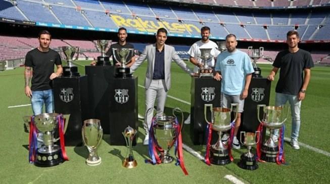 لیونل مسی , تیم فوتبال بارسلونا , لوئیس سوارس ,