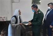 فرمانده سپاه بیتالمقدس با خانوادههای معظم شهدای کردستان دیدار کرد+تصاویر