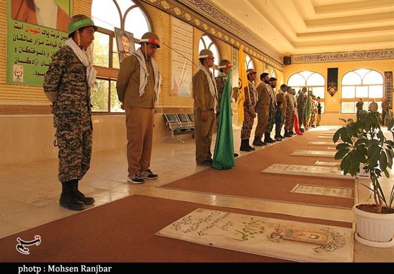 جبهه مقاومت اسلامی , استان کرمان , تعزیه , جنگ ,