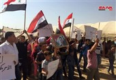 Syrians Rally against Military Presence of US, Turkey in Qamishli Countryside (+Video)