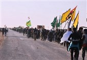 عراق|ضدعفونی شدن موکبهای حسینی در راههای منتهی به کربلای معلی