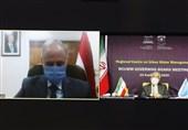 وزیر الطاقة الإیرانی یجری مباحثات مع وزیر الموارد المائیة السوری