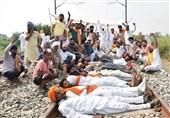 اعتراض خاص کشاورزان هندی به تصویب قانون اصلاحات کشاورزی حرکت قطارها را لغو کرد