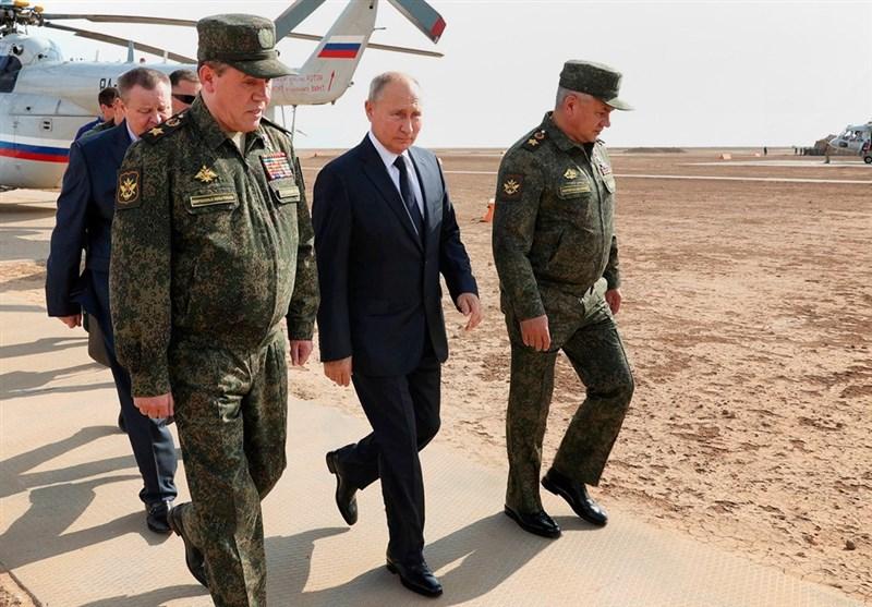 """بازدید پوتین از مرحله اصلی رزمایش """"قفقاز-2020"""" در جنوب روسیه"""