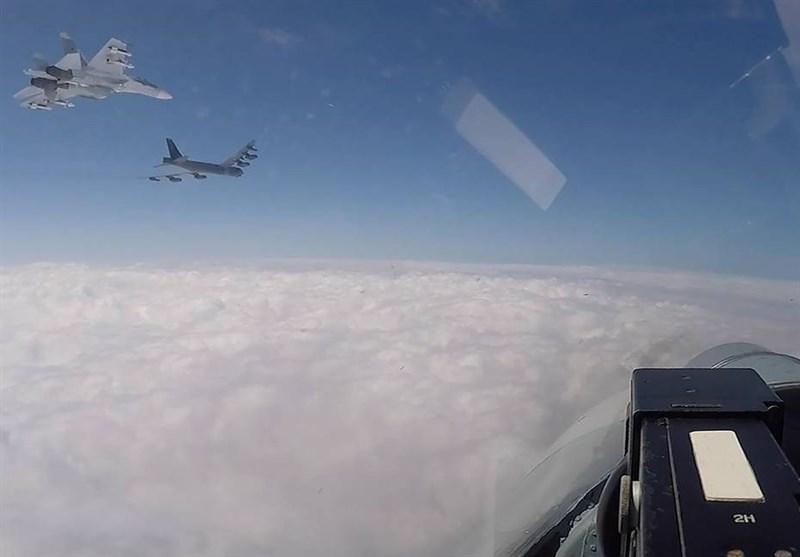 پرواز 44 هواپیمای بیگانه در نزدیکی مرزهای روسیه طی یک هفته