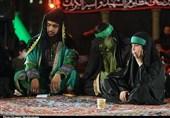 اجرای تعزیه کاروان اسرای حسینی در قم به روایت تصویر