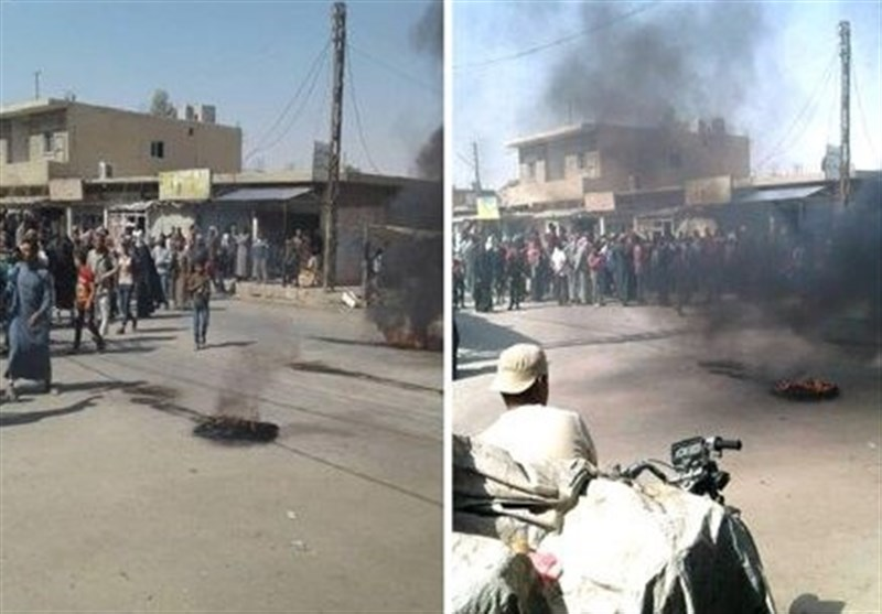 Syrians Condemn US Military Presence in Hasakah (+Video)