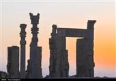 گزارش تصویری از مجموعه جهانی تخت جمشید به مناسبت روز جهانی گردشگری