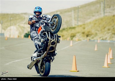دومین دور مسابقات موتورسواری سرعت - تبریز