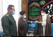 سپاه استان سمنان و ناحیه دامغان از روحانی مجاهد سنگر جبهه و جمعه تجلیل کردند