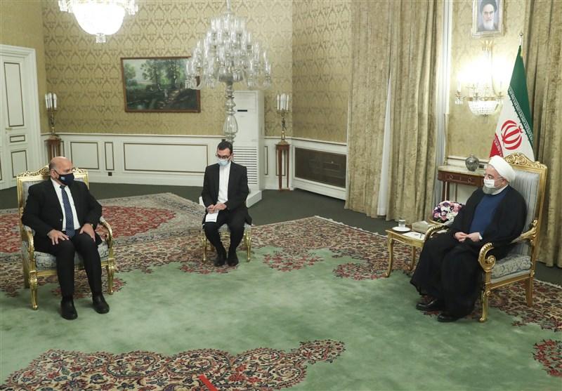 عراقی حکومت و عوام کے شانہ بشانہ کھڑے ہیں، صدر حسن روحانی