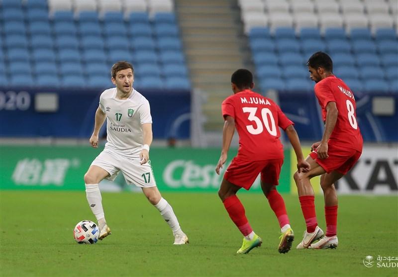 لیگ قهرمانان آسیا  صعود الاهلی عربستان به مرحله یک چهارم نهایی