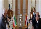 ظریف یؤکد دعم الجمهوریة الاسلامیة للعملیة السیاسیة فی العراق