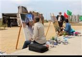 سمپوزیوم هنرمندان نقاش مازندران به روایت تصویر