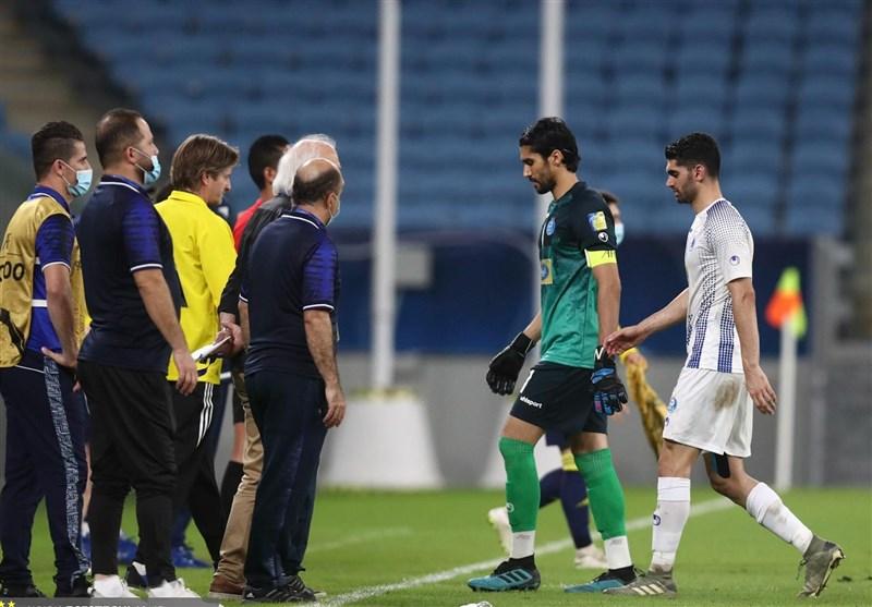 از اعتراض حسینی به پزشک تیم تا انتشار عجیب چتهای خصوصی بازیکن استقلال