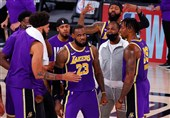 لیکرز به فینال لیگ NBA رسید/ شاهکار 40 دقیقهای جیمز + عکس