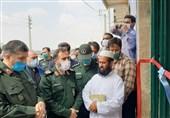 110 پروژه محرومیتزدایی سپاه پاسداران در استان گلستان افتتاح شد