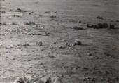 تصویر دفاع مقدس| جوانانی که با بمباران هواپیماهای بعثی پودر شدند