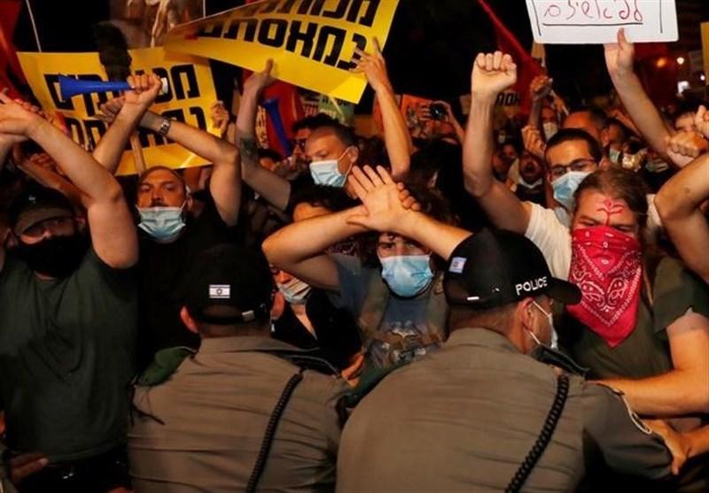 Several Arrested at Anti-Netanyahu Protest in Jerusalem Al-Quds (+Video)