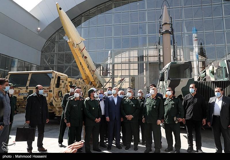 مراسم افتتاح پارک ملی هوافضا