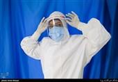 مدافعان عرصه سلامت در بخش بیماران کرونا