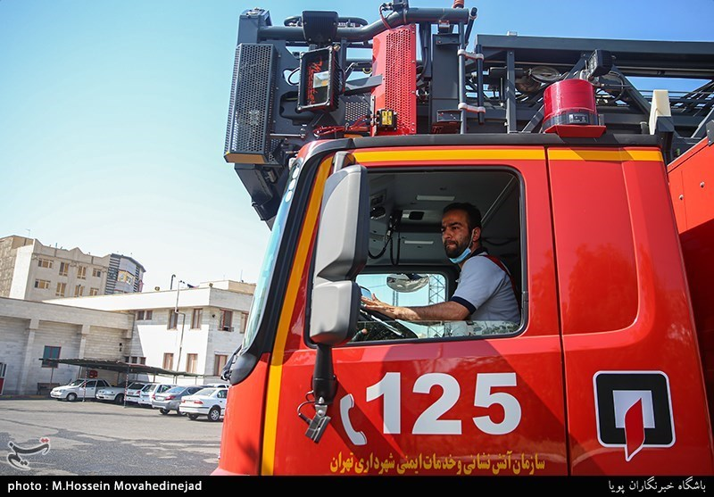 توضیح مدیرعامل سازمان آتشنشانی اصفهان در مورد تجمع مقابل استانداری