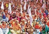 تشدید اعتراضات کشاورزان هند به تصویب لایحه اصلاحات کشاورزی
