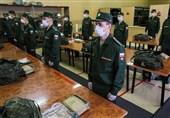 وضعیت شیوع کرونا در میان نیروهای نظامی روسیه