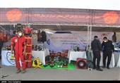 نمایشگاه تجهیزات آتشنشانی شیراز به مناسبت روز آتش نشان + تصاویر