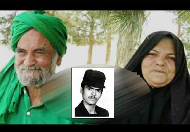 درگذشت پدر و مادر شهید موسوی ندوشن در یک روز