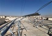 نصب نیروگاه خورشیدی و سامانه پایش آنلاین مصرف انرژی
