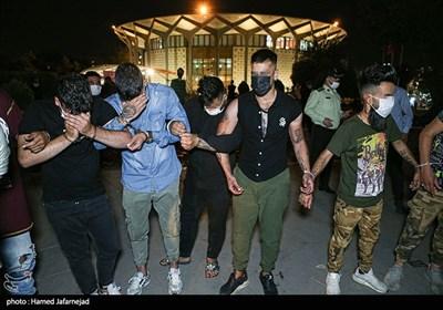بازداشت اراذل و اوباش پارک دانشجو