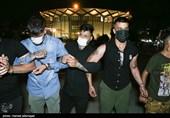 فیلم| لحظه بازداشت اوباش پارک دانشجو در عملیات ضربتی پلیس تهران