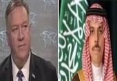 تماس تلفنی پامپئو با همتای سعودیاش درباره بحران شورای همکاری، یمن و عادی سازی روابط
