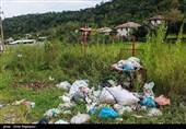 تسنیم گزارش میدهد؛ زباله معضل رفع نشده محمودآباد/ تلنبار زباله در شهر ساحلی غرب مازندران
