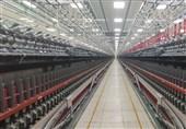 رئیس بنیاد مستضعفان خط تولید نخ پنبهای پلی استر را افتتاح کرد