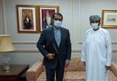 سفیر ایران با معاون سیاسی وزارت امور خارجه عمان دیدار کرد