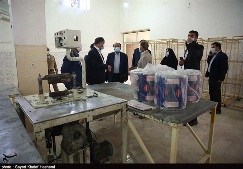 """راهاندازی طرحهای """"جهش تولید"""" در استان بوشهر به روایت تصاویر"""