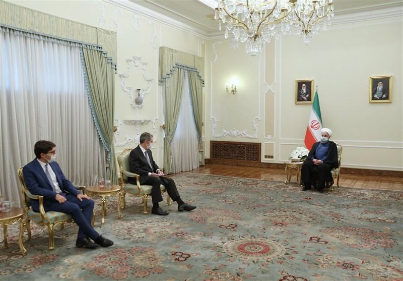 روحانی: اروپا اجازه ندهد تحریمهای آمریکا بر روابط اقتصادی آنها با ایران تاثیر بگذارد