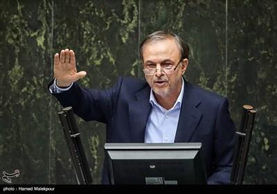 سخنرانی علیرضا رزم حسینی وزیر پیشنهادی صنعت، معدن و تجارت در جلسه علنی مجلس شورای اسلامی
