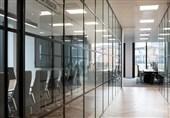 استفاده از پارتیشن های شیشه ای در محل کار