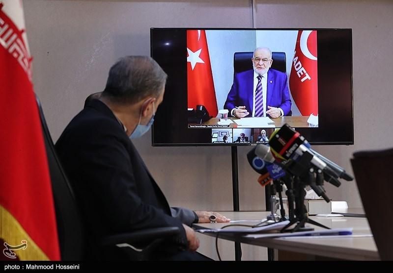 شیخ «علی یرال» از ترکیه در نشست بیداری اسلامی: فلسطین و قدس ناموس مسلمانان است