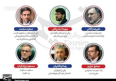 گزارش دوم- بررسی شایعات درباره 6 شخصیت سیاسی دیگر در کشور/ چه کسی نامزد انتخابات 1400 میشود؟